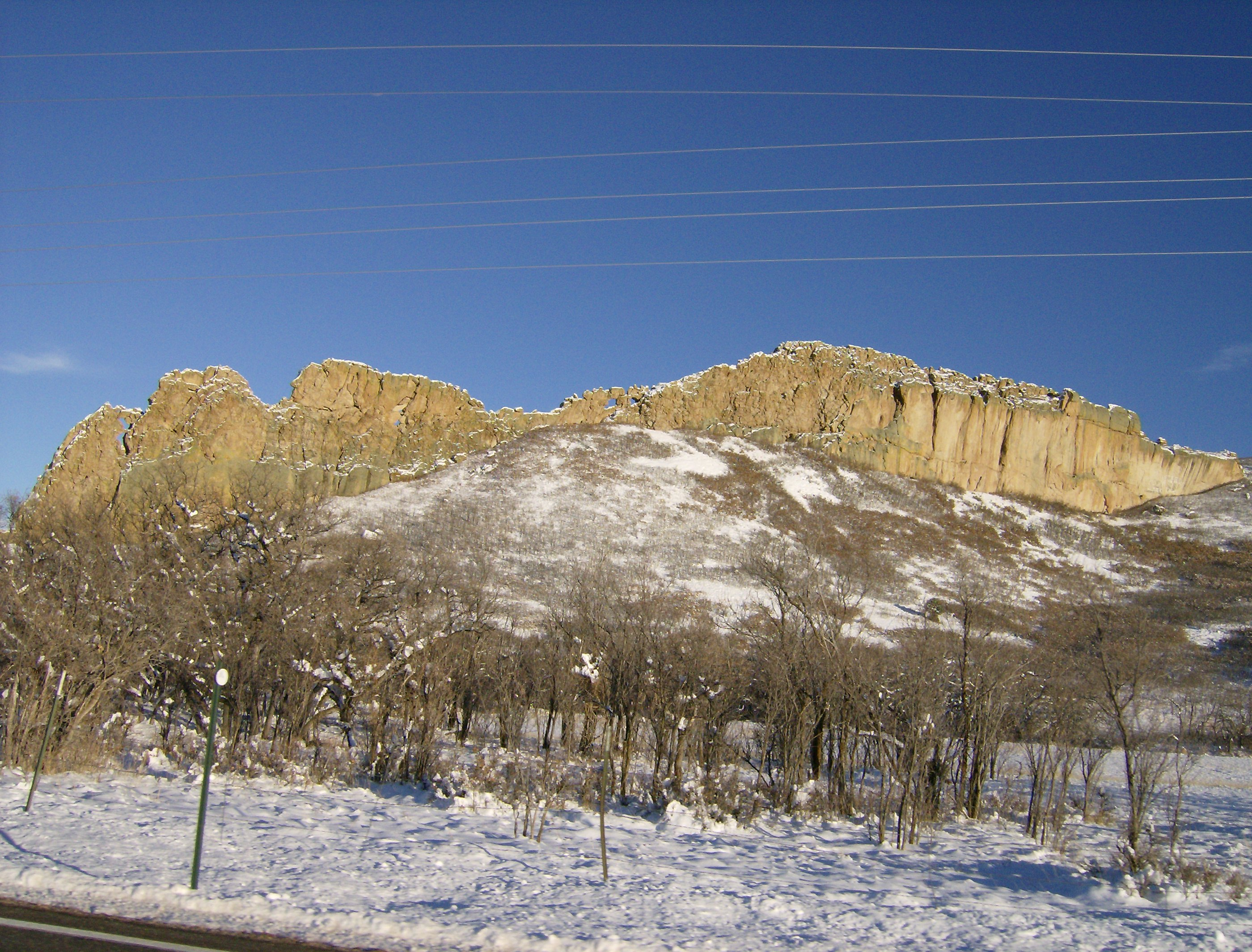 Radial Dikes Near LaVeta, Colorado