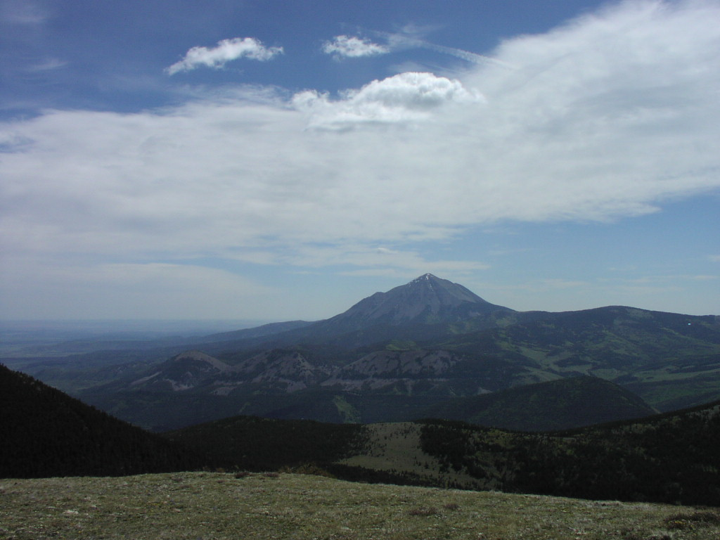 Looking towards the East Spanish Peak