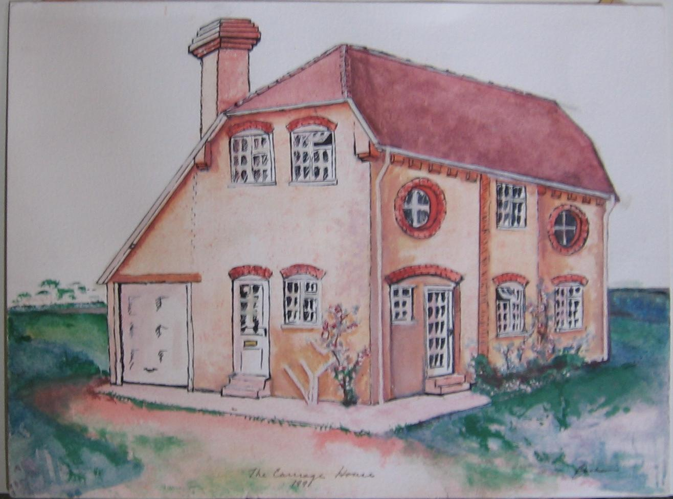 The Coach House Painting